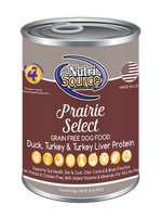 NutriSource Prairie Select Canned Dog Food 13oz