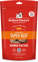 Stella & Chewy's Freeze Dried Super Beef Dinner Patties for Dogs