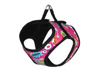 RCPets Step In Cirque Dog Harness Pink Comic