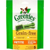 Greenie's Grain Free Petite Dental Dog Treats 5 count