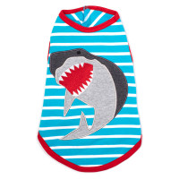Jaws Dog Tank by Worthy Dog
