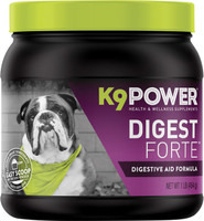 K9 Power Digest Forte Powder- Multi Digestive Health Formula for Dogs