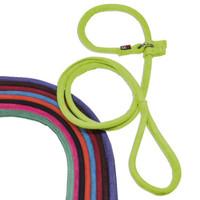 "DogLine Comfort Microfiber Round Slip Lead 5ft x 1/4"""