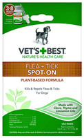 Vets Best Flea & Tick Spot-On for Dogs