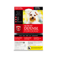 NutriVet Defense Plus Flea & Tick for Small Dogs 3pack