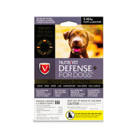 NutriVet Defense Plus Flea & Tick for Puppy/Mini Dogs 3pack