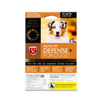 NutriVet Defense Plus Flea & Tick for Large Dogs 3pack