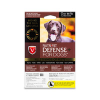 NutriVet Defense Plus Flea & Tick for Extra Large Dogs 3pack