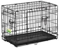 "Contour 22"" Double Door Dog Crate"