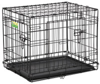 "Contour 24"" Double Door Dog Crate"
