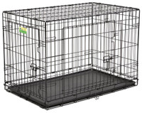 "Contour 36"" Double Door Dog Crate"
