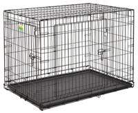 "Contour 42"" Double Door Dog Crate"