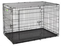 "Contour 48"" Double Door Dog Crate"