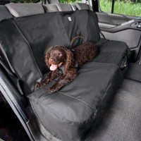 Kurgo Wander Bench Seat Cover Charcoal