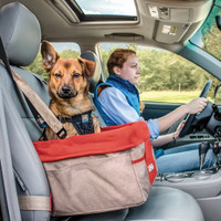 Kurgo Dog Red Booster Seat