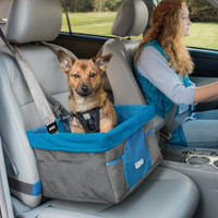 Kurgo Dog Blue Booster Seat