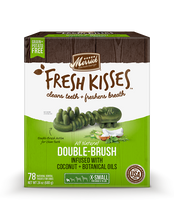 Fresh Kisses w/Coconut Oil for Extra Small Dogs 78 count