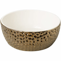 "Vesuvius Gold 7"" Pet Dish"
