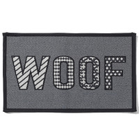 WOOF Tapestry Pet Placemat
