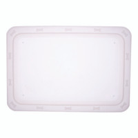 Bone 'n Up for Dinner Clear Pet Bowl Tray