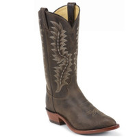Tony Lama Men's Llano Chocolate Western Boots