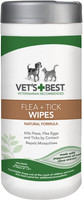 Vets Best Flea & Tick Wipes for Dogs & Cats 50 count