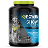 K9 Power Show Stopper  Dog Skin and Coat Supplement