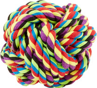 Nuts for Knots Cotton Ball Medium Dog Toy