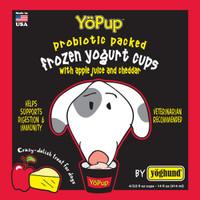 YoPup Apple & Cheddar Frozen Yogurt for Dogs