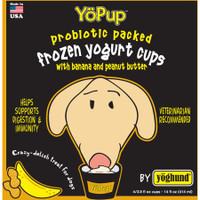 YoPup Banana & Peanut Butter Frozen Yogurt for Dogs