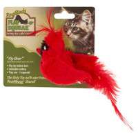 Play-N-Squeak Realbirds Flyover Cat Toy