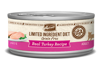 Merrick Limited Ingredient Diet Real Turkey Recipe Canned Cat Food 5oz