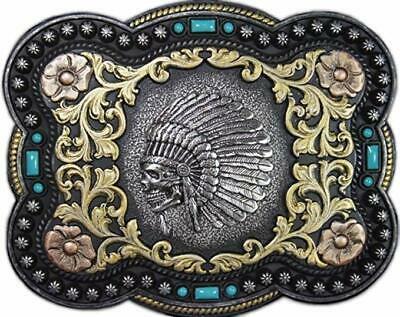 Nocona Mens American Buffalo Belt Buckle