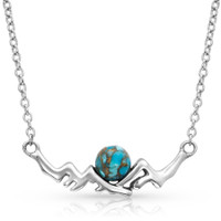 Pursue the Wild, Mountain Turquoise Necklace