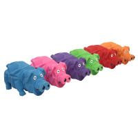 """Origami Pals Latex 8"""" Pig Dog Toy"""