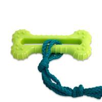 Little Barks Rope Bone Dog Toy