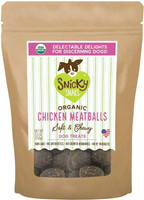 Organic Chicken Meatball Dog Treats 5.5oz