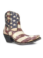 Ariat Circuit Cruz Americana Flag Print Womens Western Boot