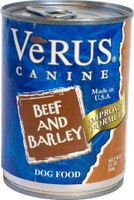 Verus Beef & Barley Canned Dog Food 13oz