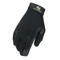 Heritage Performance Black Riding Gloves