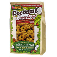 Coconut Crunchers Apricot &  Kiwi 14oz