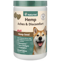 Hemp Aches & Discomfort Soft Chews, 60 count