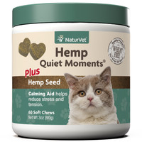 Hemp Quiet Moments Cat Soft Chews 60 count