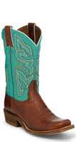 Moya Cognac Women's Square Toe Western Boot by Nocona