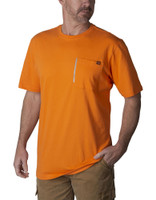 Walls Short Sleeve Pocket T-Shirt - Orange