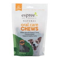 Espree Oral Care Chews for Small Dogs 8oz