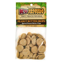 Peanut Butter Drops by K9 Granola Factory 8oz