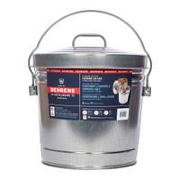 Galvanized Steel Locking Lid Can - 6 gallon