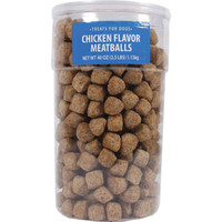Triumph Chicken Meatball Dog Treats 2.5lbs