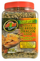 Zoo Med Bearded Dragon Adult Pellet Food 10oz